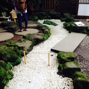 氷川神社 祓いの川