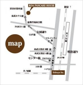 コアパンケーキハウス 渋谷