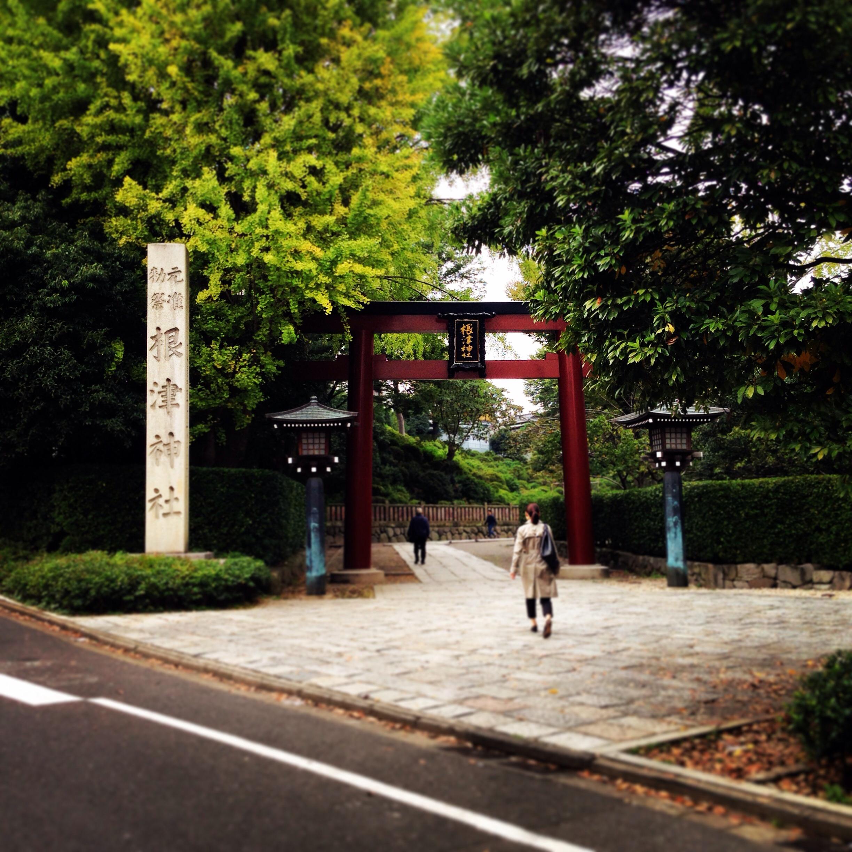 根津神社 東京散歩