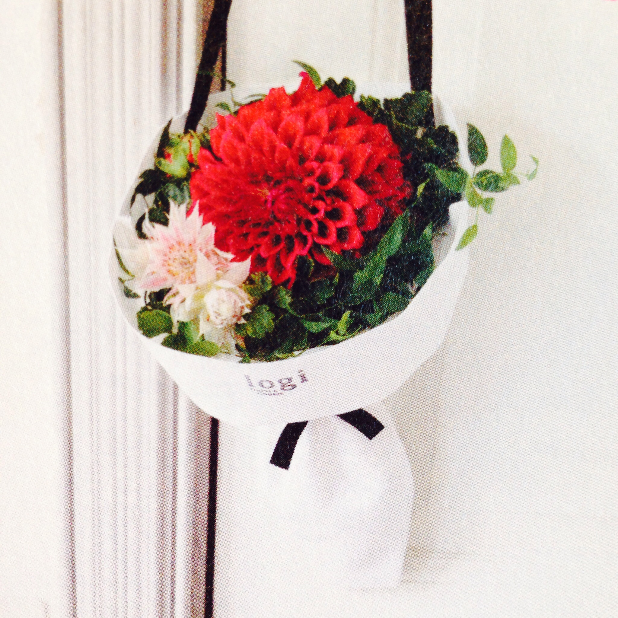 logi plant's&flowers 青山 自由が丘 フラワーバッグ