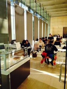 東京都庭園美術館 リニューアル カフェ