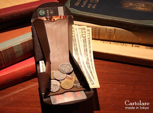 薄い財布 ギフト プレゼント バレンタイン ハンモック財布