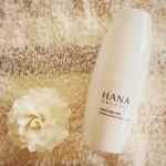 天然由来100%で肌を癒す美白美容液「HANAオーガニック ムーンナイトミルク」。