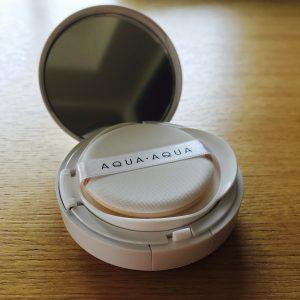 AQUA AQUA(アクアアクア)クッションファンデーション オーガニック クッションファンデ 口コミ 感想 レビュー カバー力 時短ファンデ